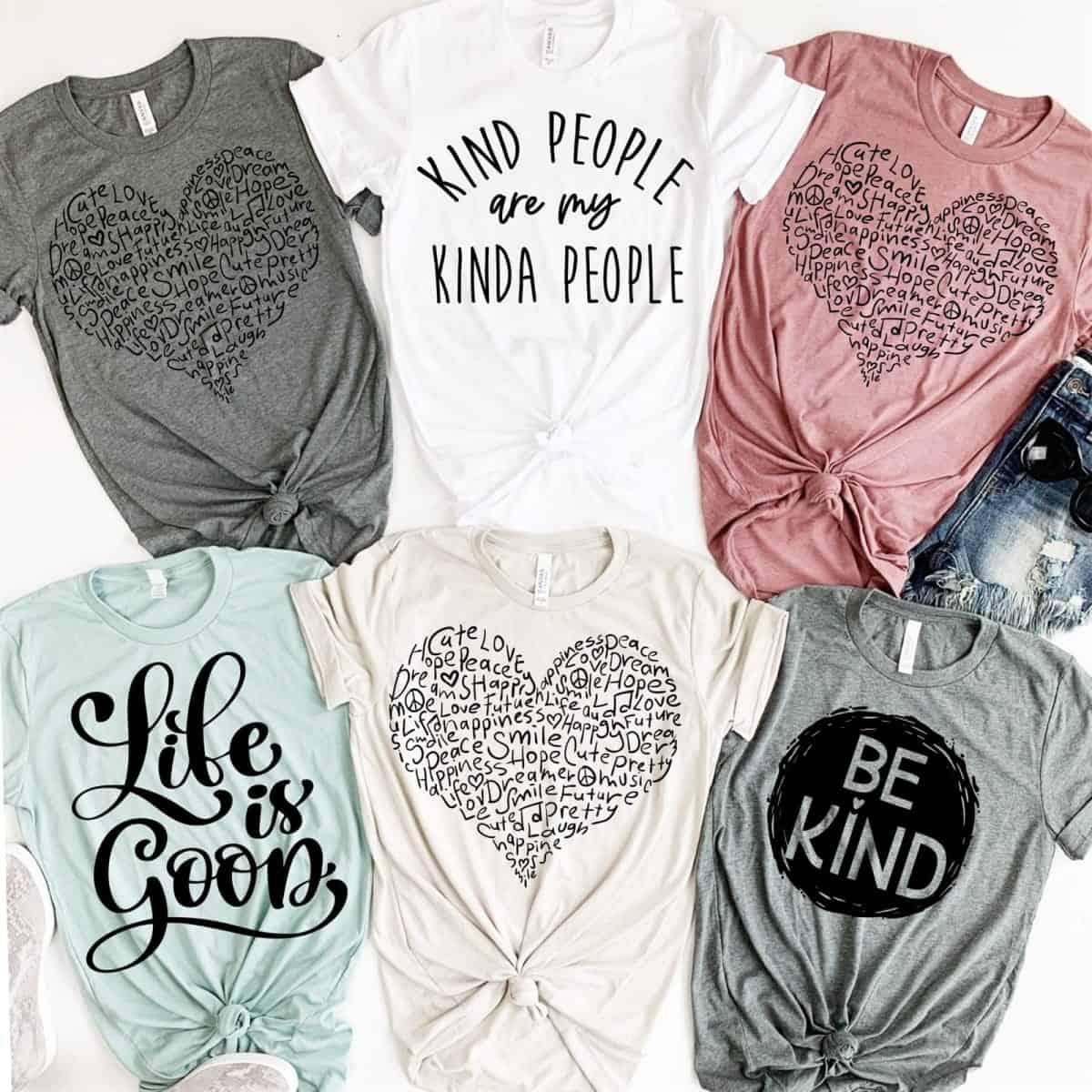kind tee shirts