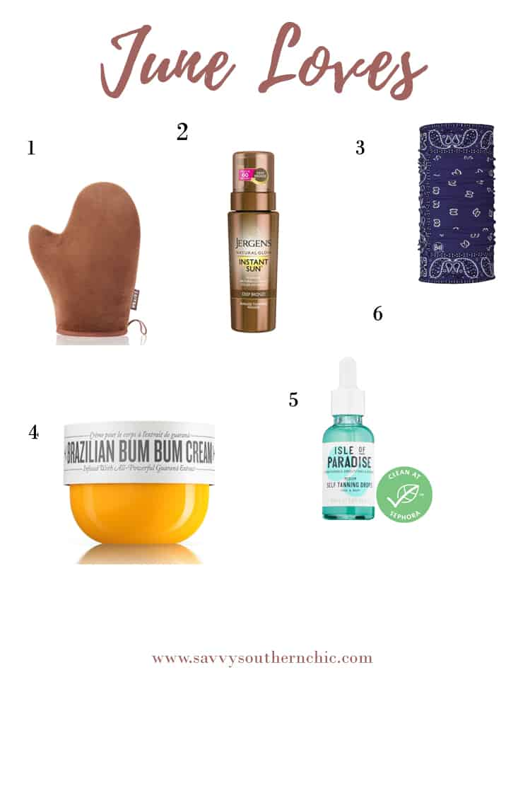 Favorite June skin care products