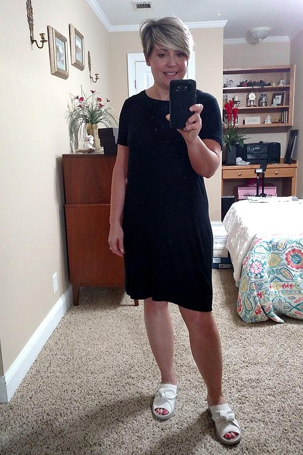 tshirt dress and bzees