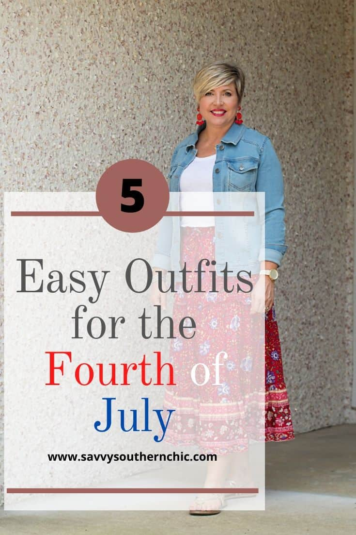 Five Easy Outfits for the Fourth of July