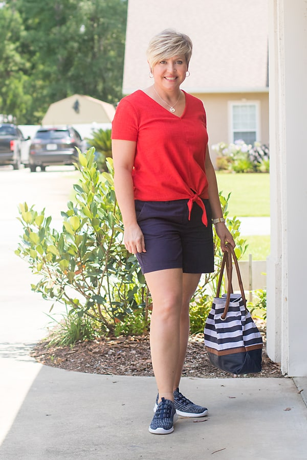 easy outfits for the Fourth of July