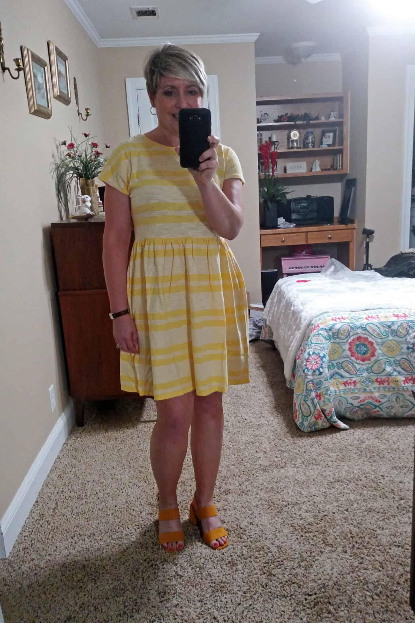 summer cotton dress from Amazon