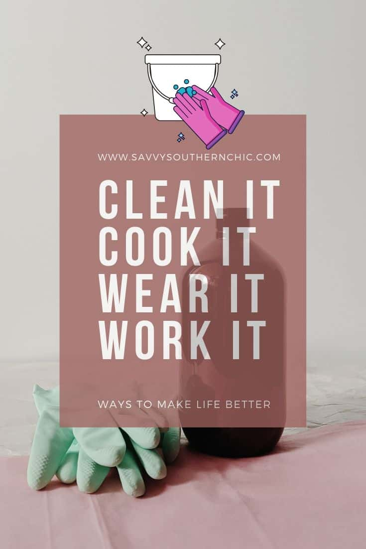 cleaning and cooking tips