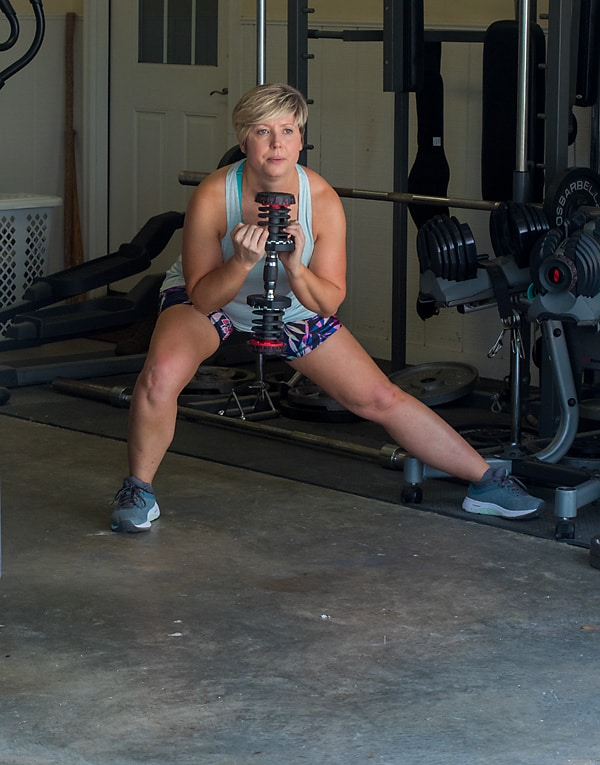 Faster Way to Fat Loss squat; women's workouts
