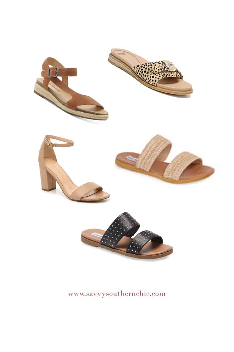 Summer sandals to stay stylish and cool