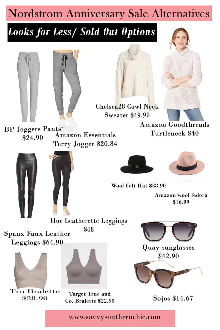 alternatives to the Nordstrom Anniversary Sale items