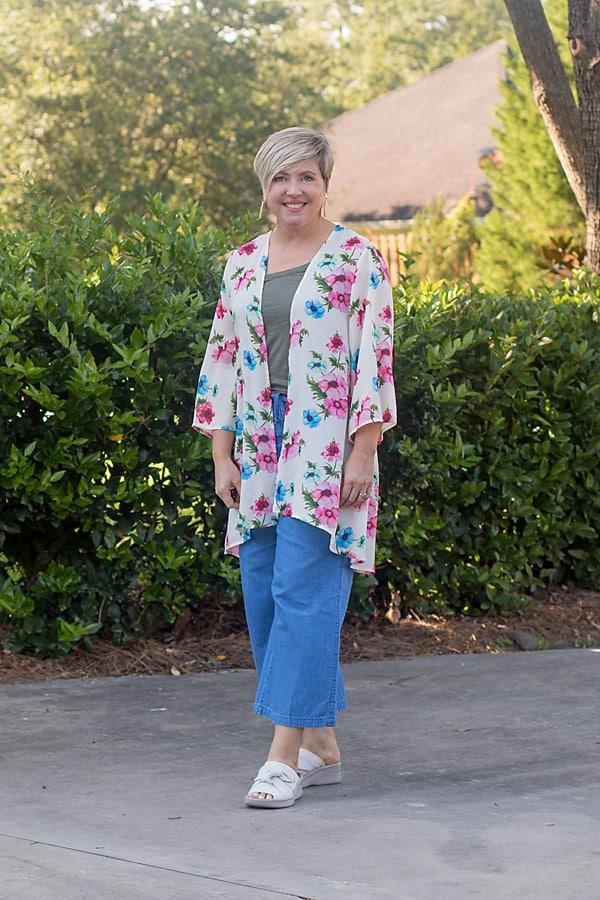 kimono outfit with pants
