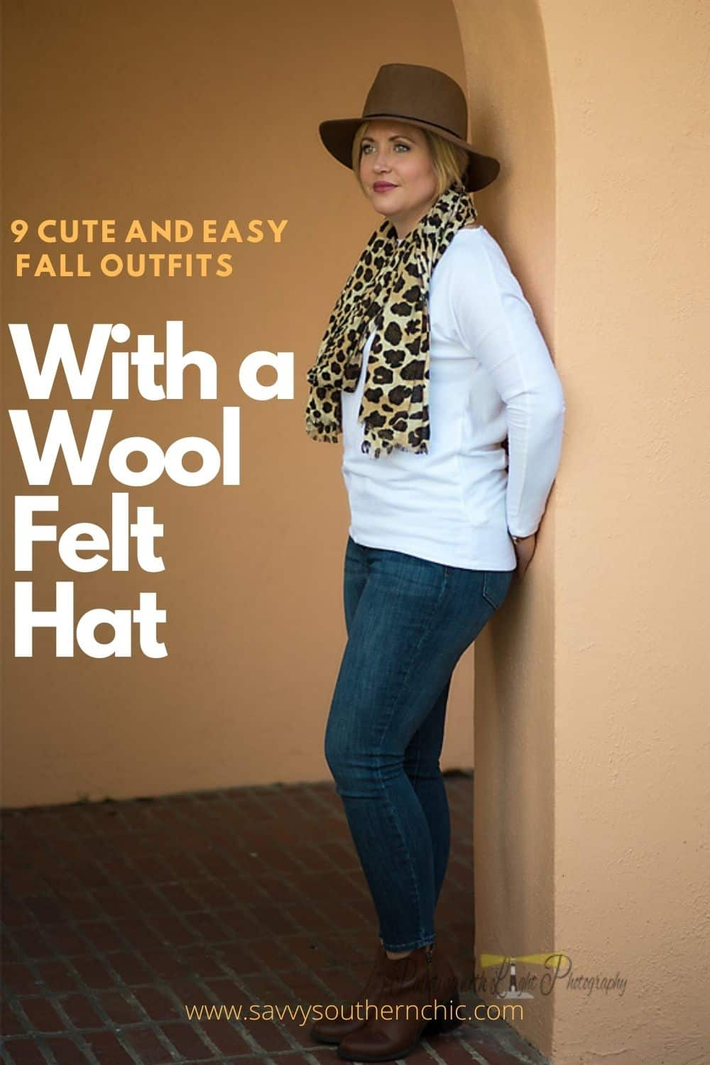 9 Cute and Easy Fall Outfits with a Wool Felt Hat