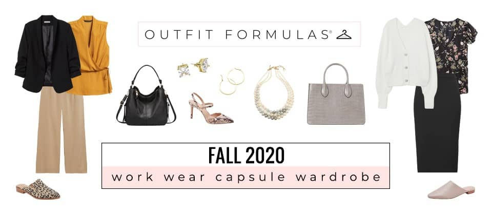 fall work wear