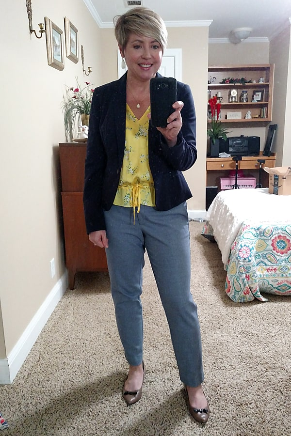 Women's summer office outfit