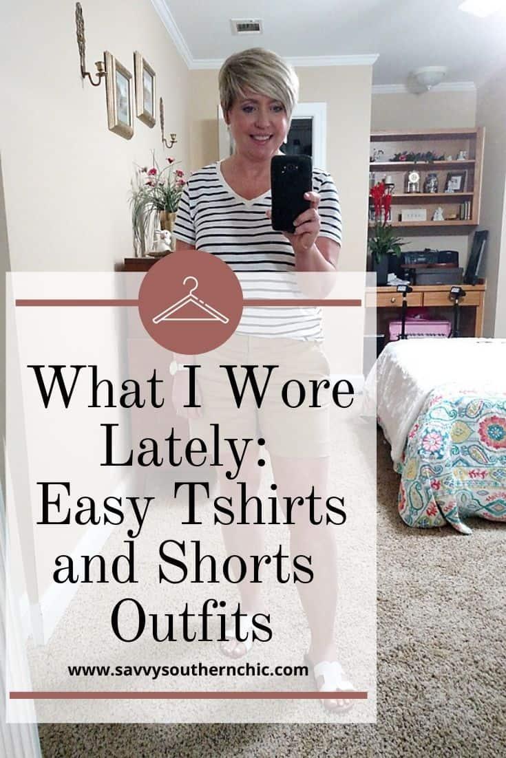 tshirts and shorts outfits