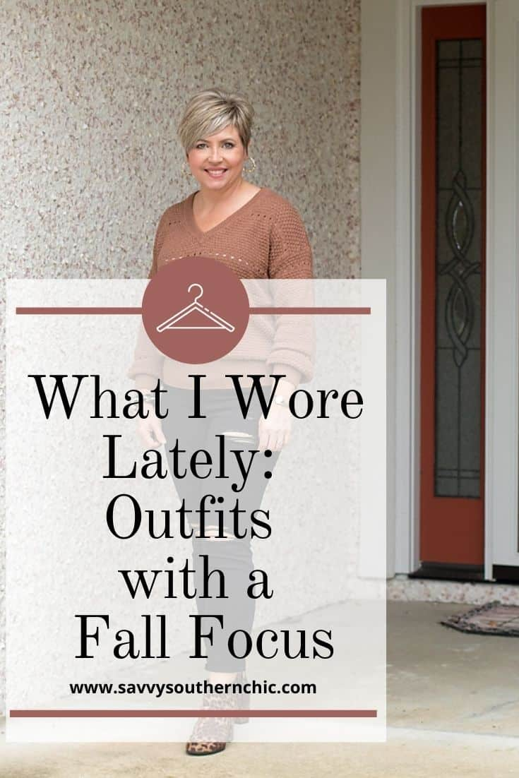 What I Wore Lately: Fall Focus