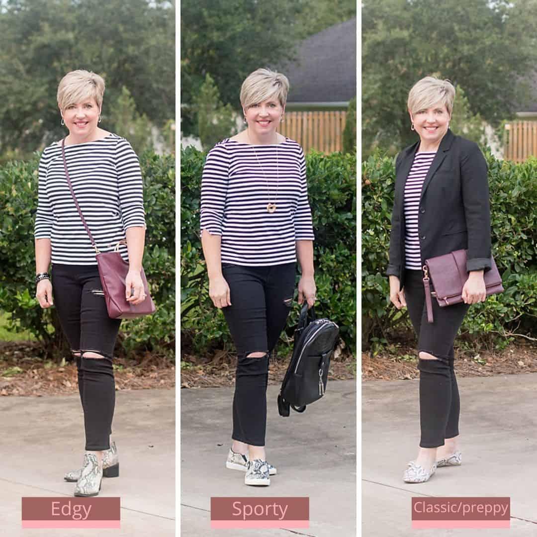 outfit formula three ways
