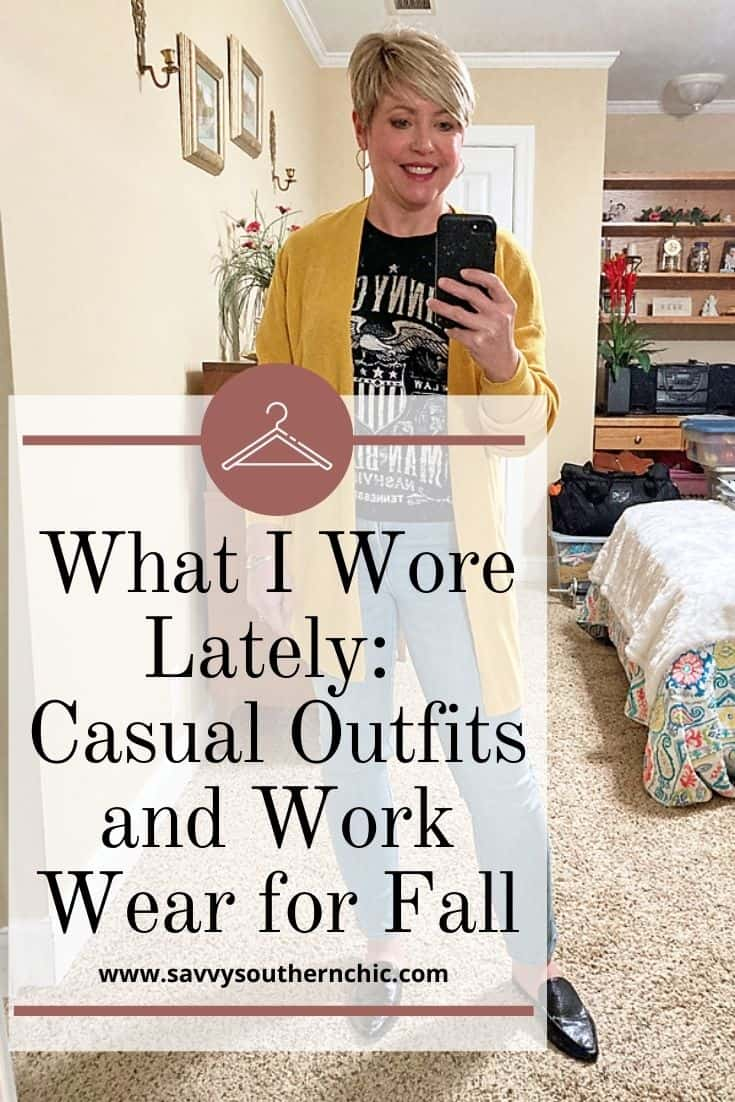 Casual fall outfits and fall work wear