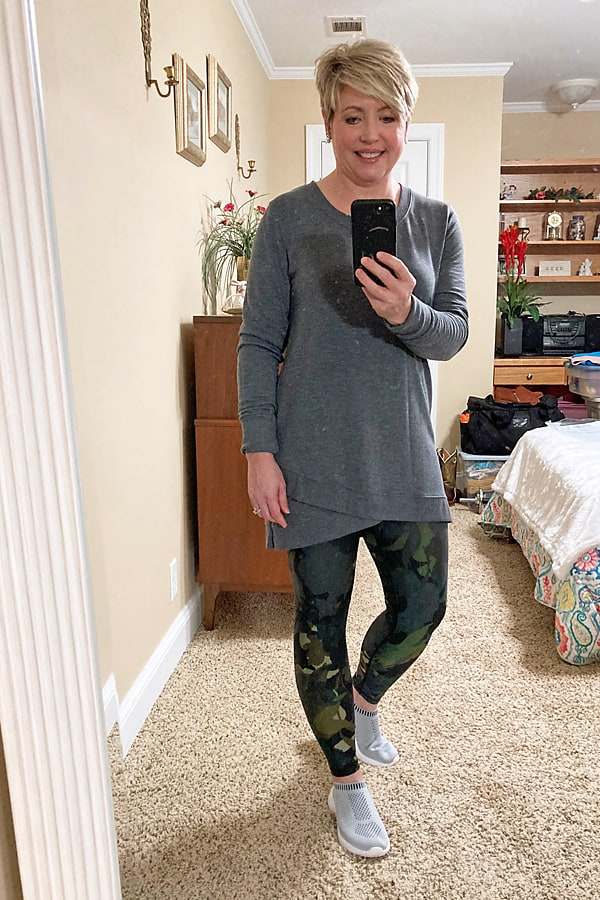 comfy leggings outfit