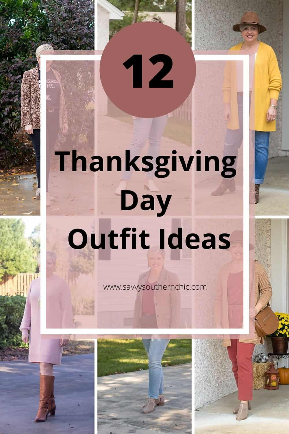 One Dozen Cute and Easy Thanksgiving Day Outfit Ideas