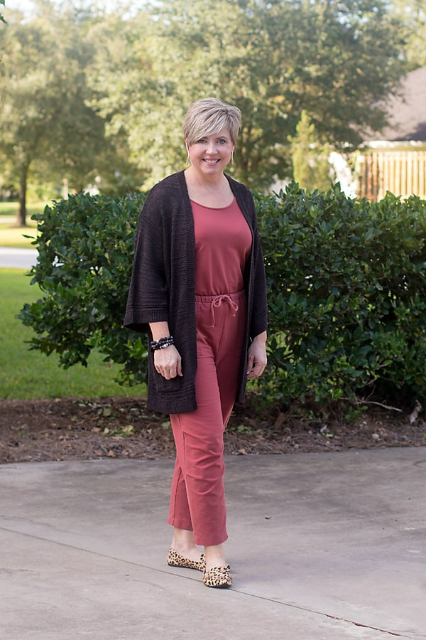 fall jumpsuit outfit