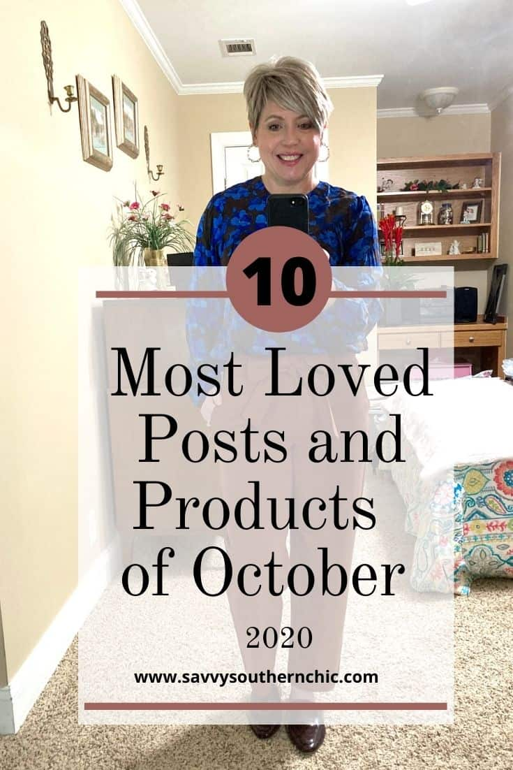 Most popular posts and products of October