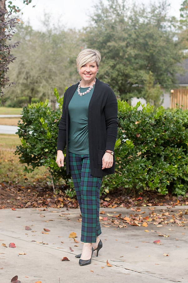dressy Thanksgiving day outfit