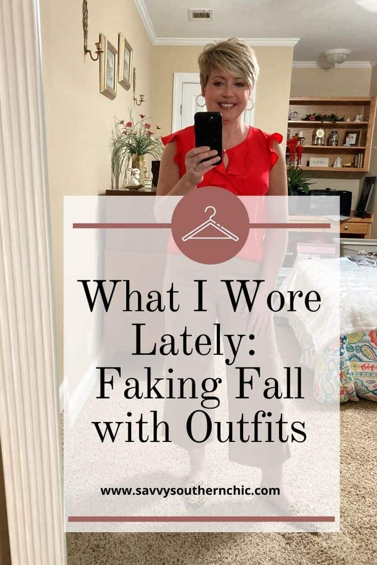 What I Wore Lately fall outfits for errands and casual outings