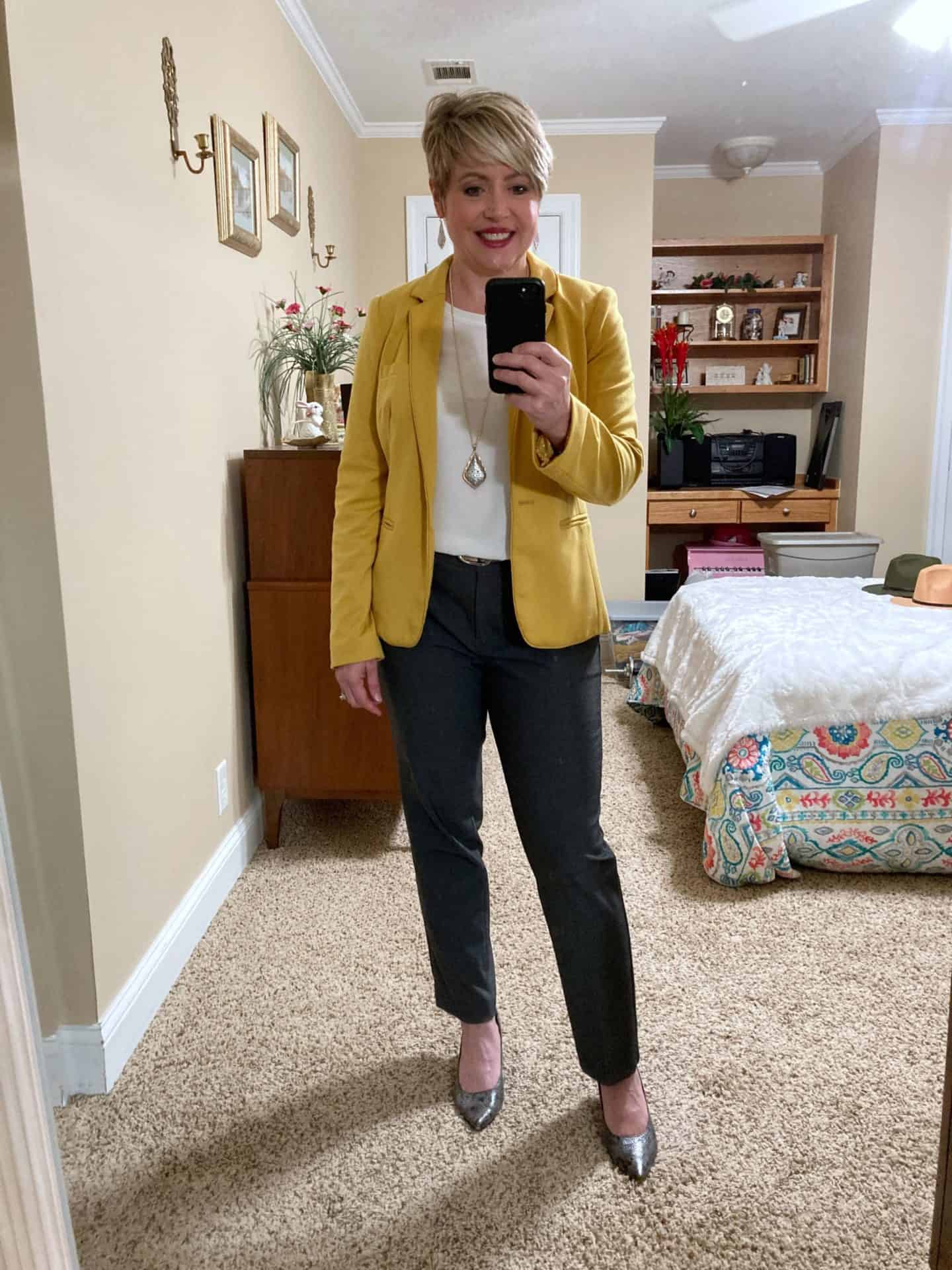 women's fall office outfit