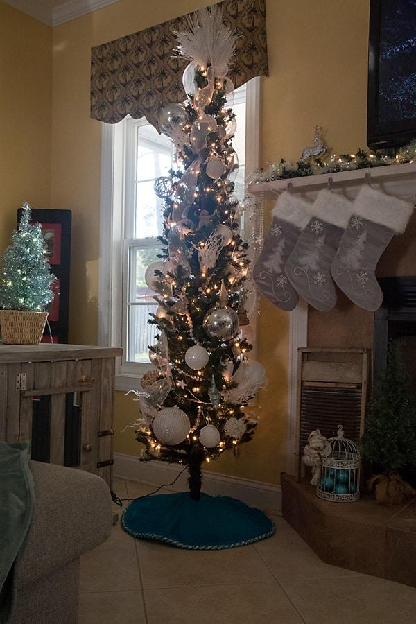 coastal theme Christmas tree