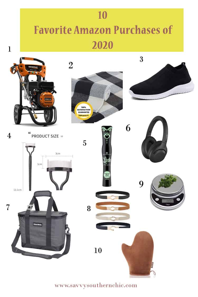My 10 Favorite Amazon Purchases of 2020