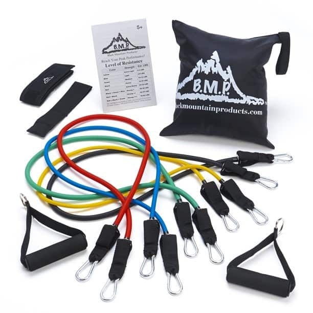 resistance bands simple fitness equipment
