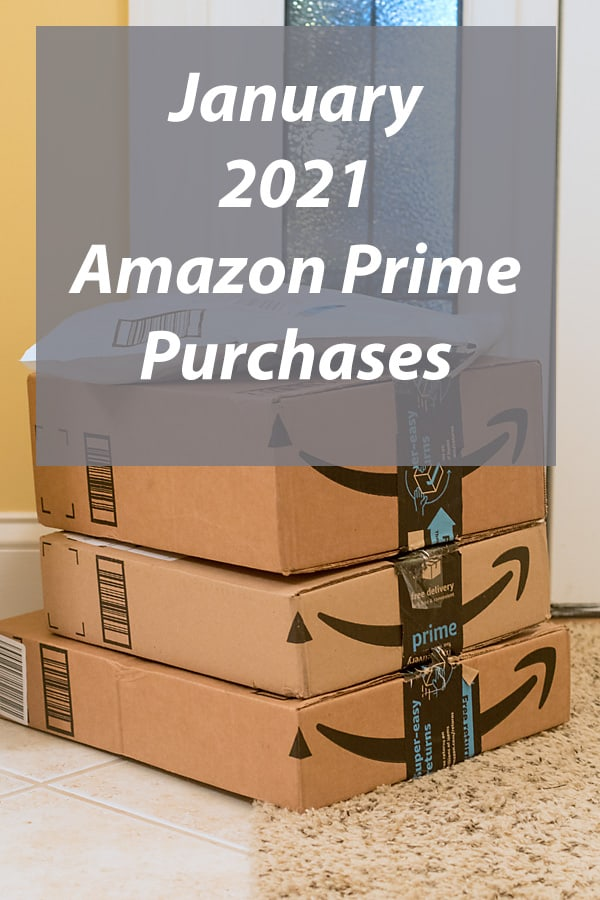 January's Fun and Practical Amazon Prime Purchases