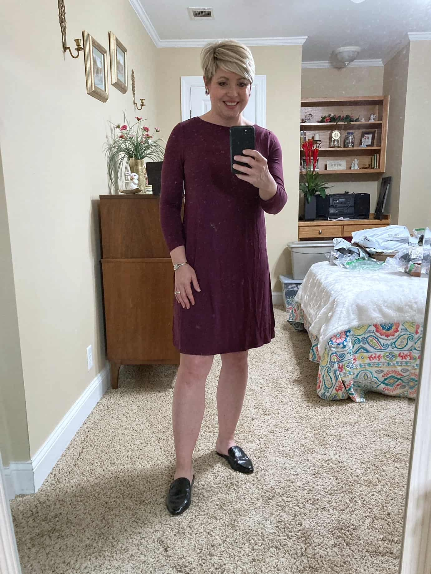 swing dress for spring from Amazon Prime Wardrobe