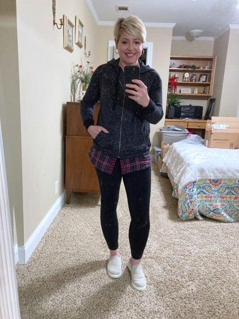 hoodie from Amazon Prime Wardrobe