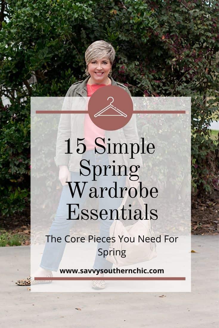 15 spring wardrobe essentials