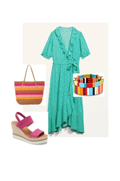 women's spring dress outfit