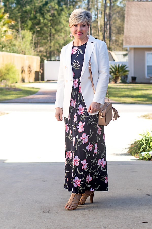petite maxi dress for easter