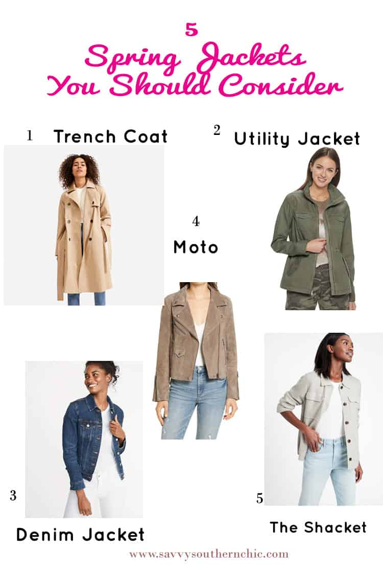 5 Worthwhile Spring Jackets You Should Consider For Instant Style