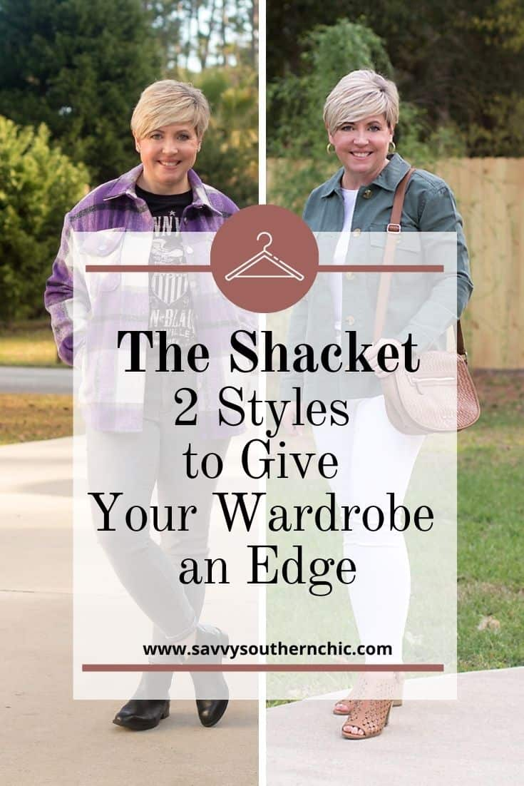 Two shacket style and how to style them for spring