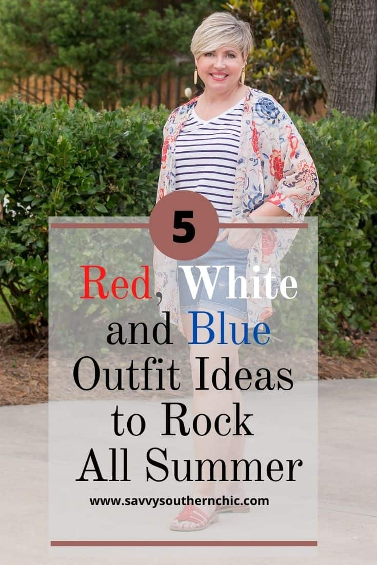 5 Classy Red, White and Blue Outfit Ideas To Rock Now