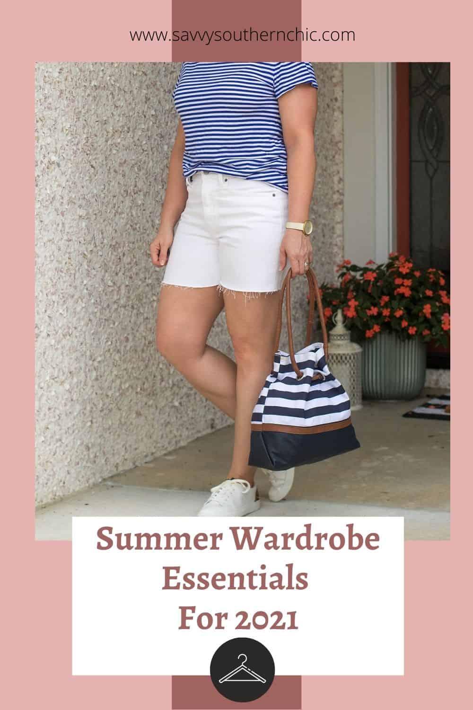 summer wardrobe essentials for women over 40