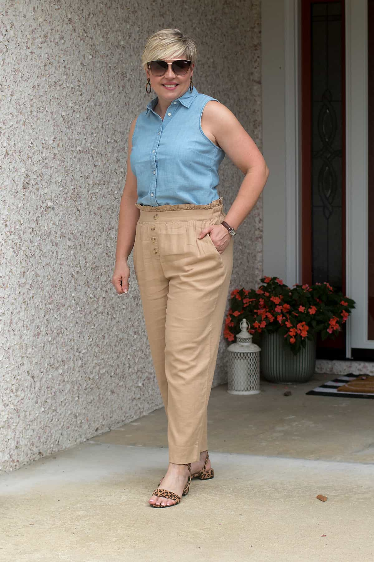 How to Wear Summer Trends: Styling Paperbag Pants and Shorts Simplified