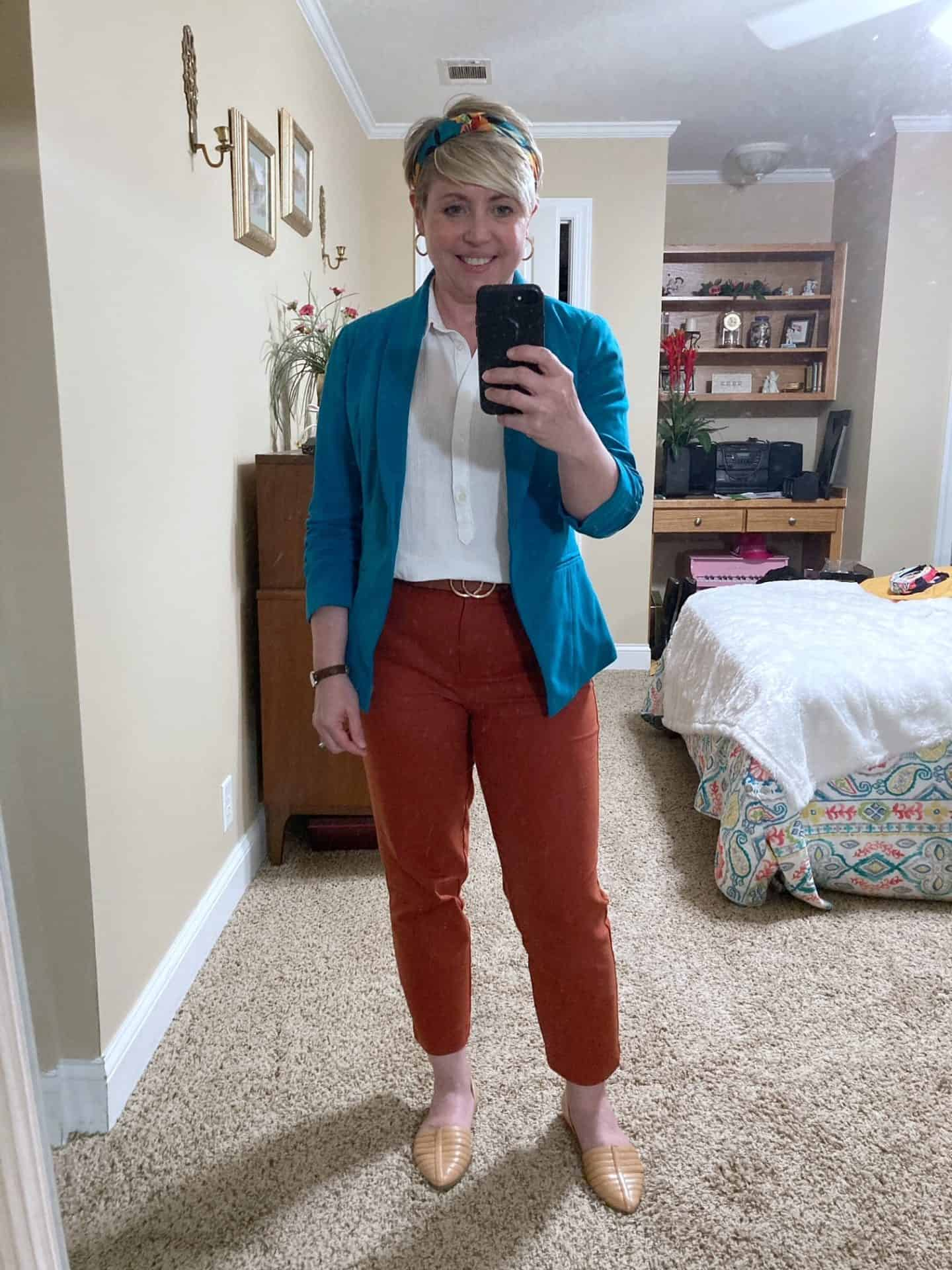 womens office outfit business casual