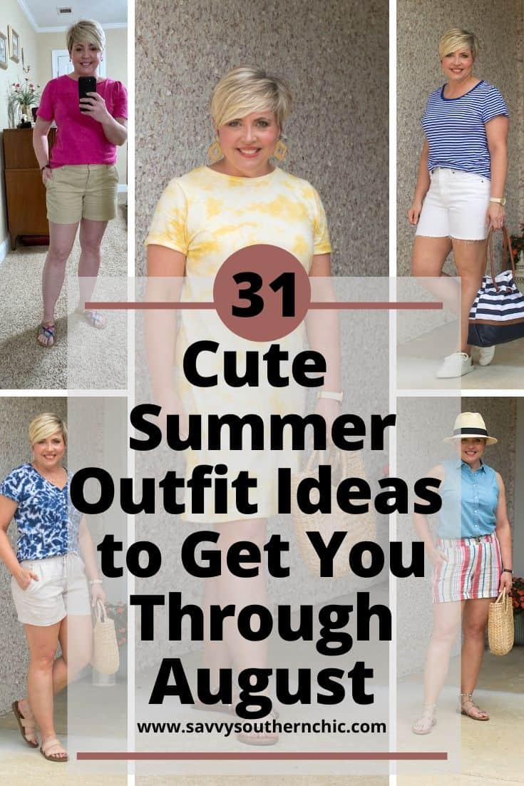 31 Summer Outfit Ideas To Get You Through August