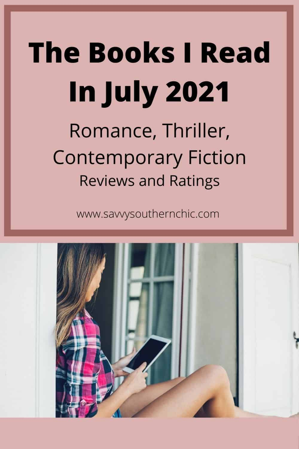 Book review of romance, thrillers and contemporary fiction