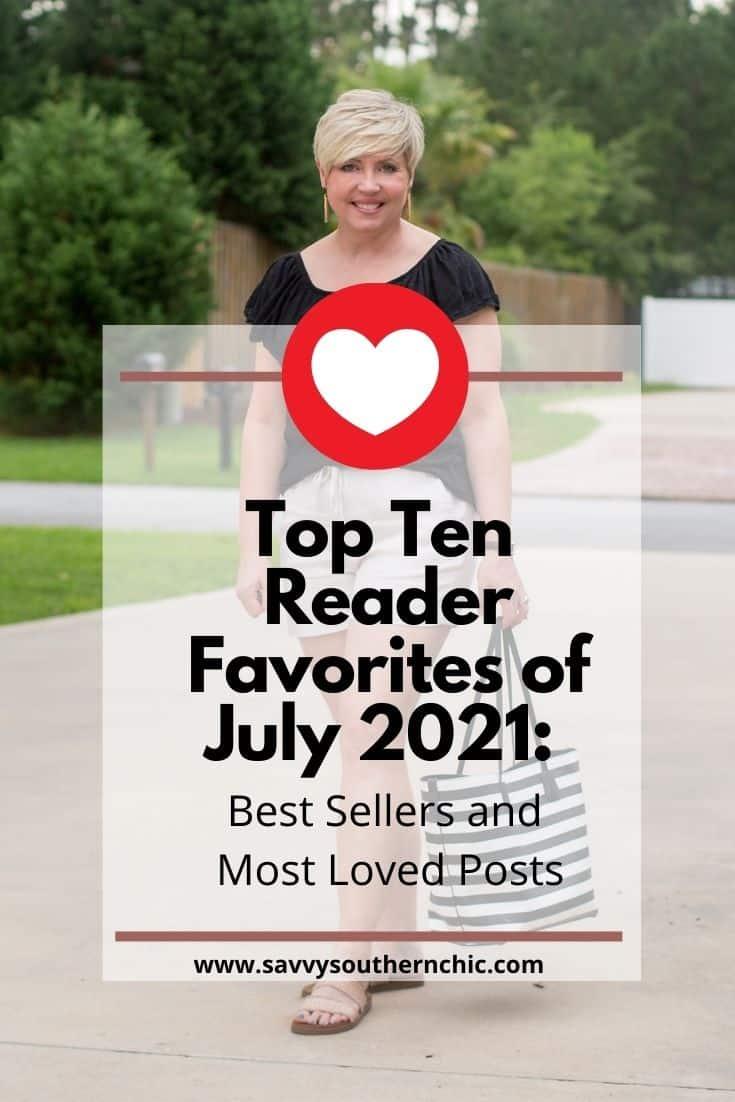 Reader Favorites for July 2021