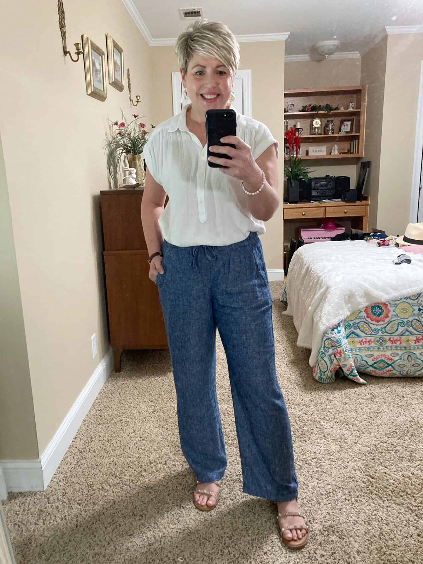 casual summer outfit for ladies