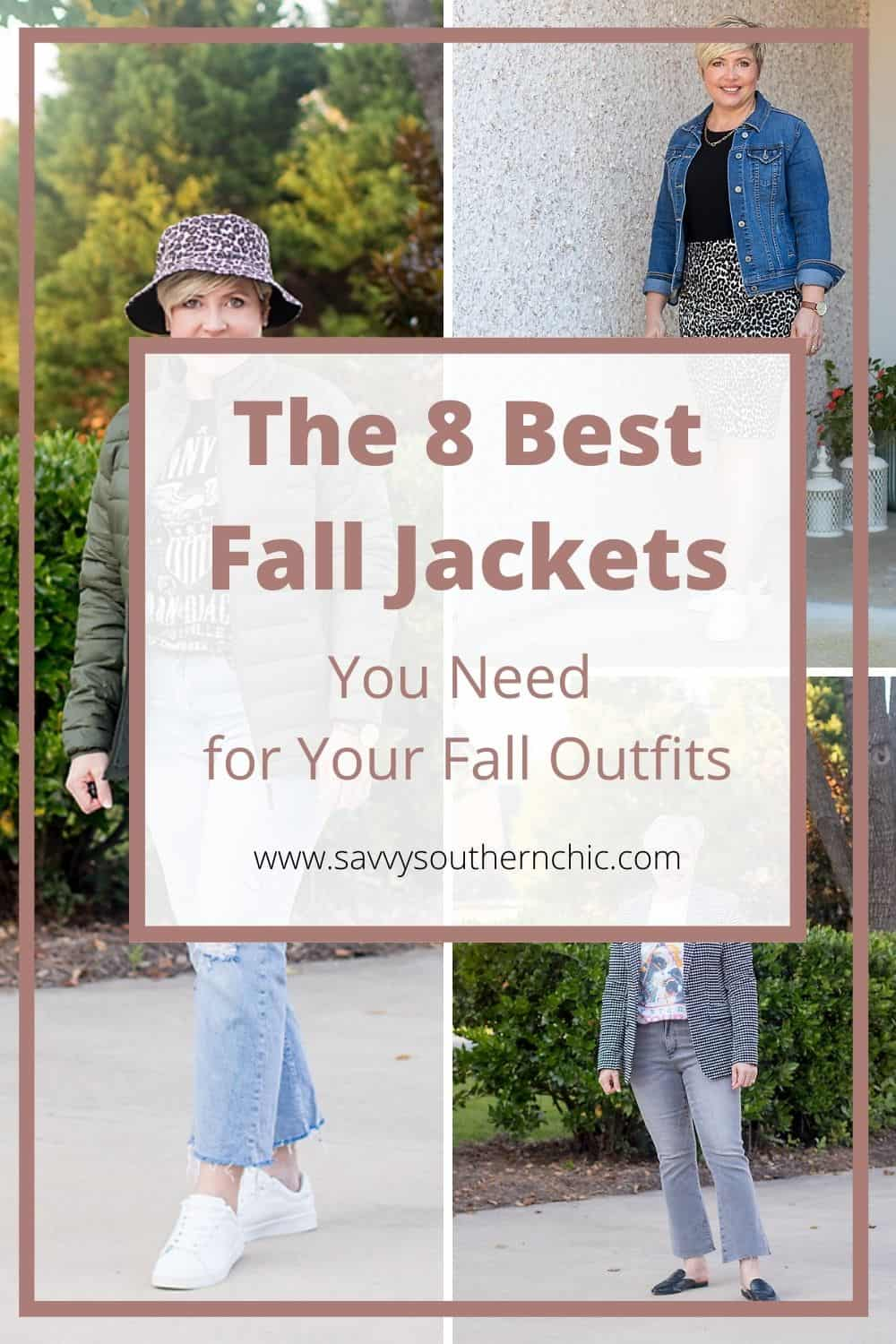 8 fall jackets for women
