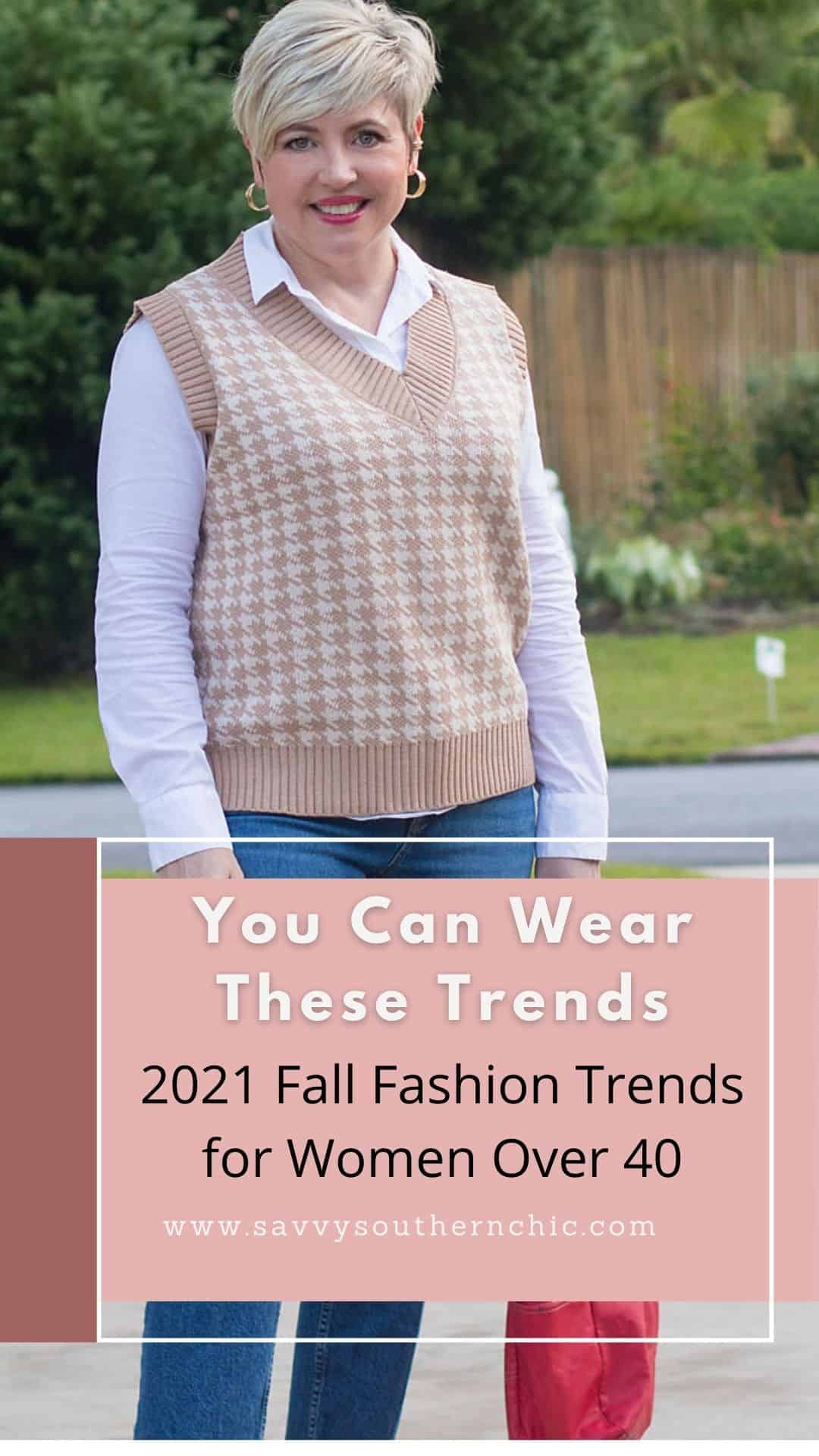 Trends You Can Wear Over 40