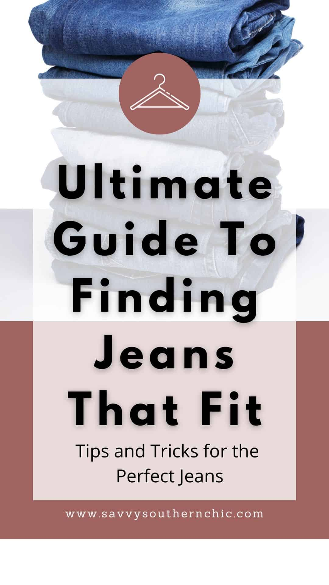 how to find jeans that fit