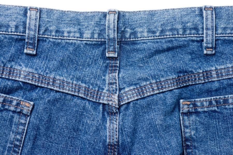 yoke of jeans