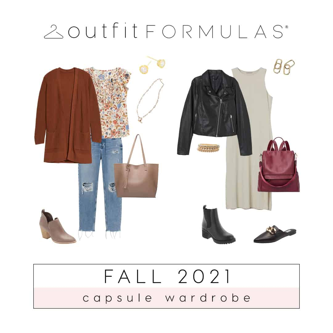 Simplify Your Fall Closet With A Capsule Wardrobe