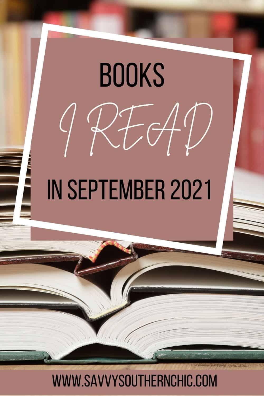 The Books I Read In September